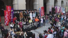 香港で数千人規模の民主化デモ 中国政府の強権政治に抗議