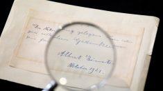 イタリア女性科学者に宛てたアインシュタイン書簡、64万円で落札