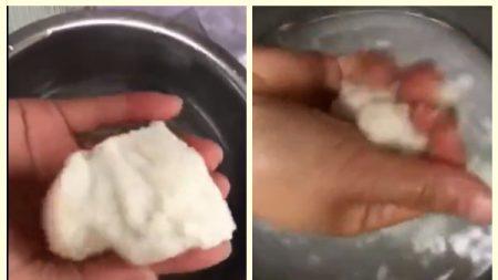 マントウを水に浸すとトイレットペーパーに…ちまたにあふれる偽食品
