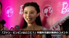 【動画ニュース】「ファン・ビンビンはどこに?」中国外交部が異例のコメント