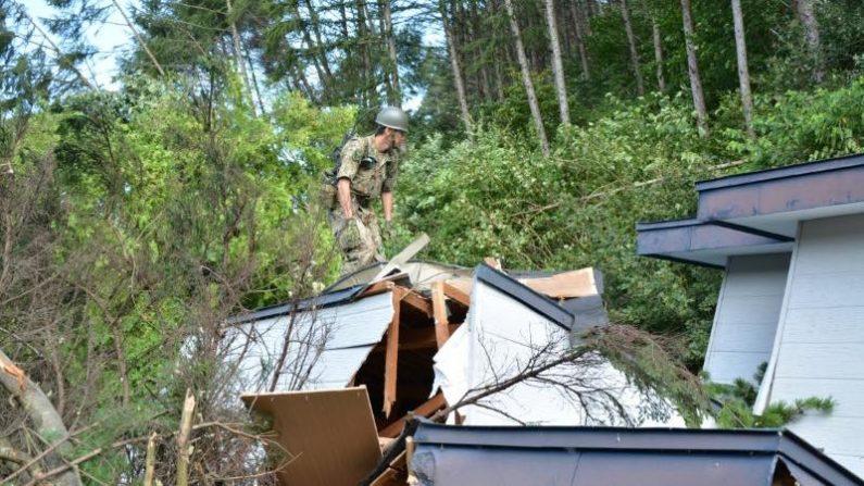 北海道地震、死者40人 政府は20%節電要請