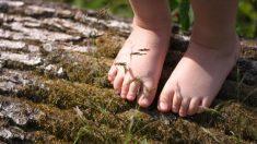 足を健康的にしたい? 小さい時から裸足で過ごそう