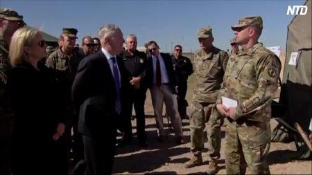 【動画ニュース】移民キャラバン 続々と米国境に到着米国防長官が国境の米軍を視察