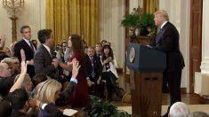 【動画ニュース】ホワイトハウス、CNN記者の記者証を無効に