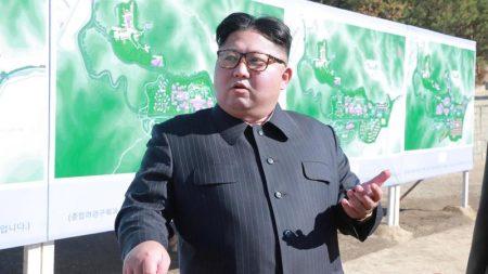 北朝鮮メディア、正恩氏が「新開発」兵器の実験視察と報道=聨合ニュース