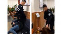 【動画ニュース】中国警官が膝で女性の首を押さえつける ネットユーザーの怒り噴出