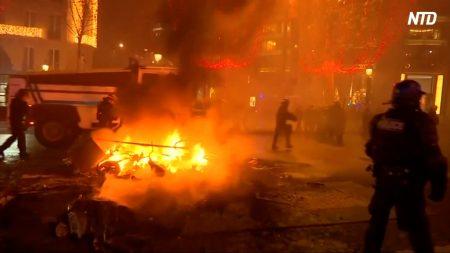 【動画ニュース】暴徒化した「黄色のベスト運動」パリ・凱旋門も被害に