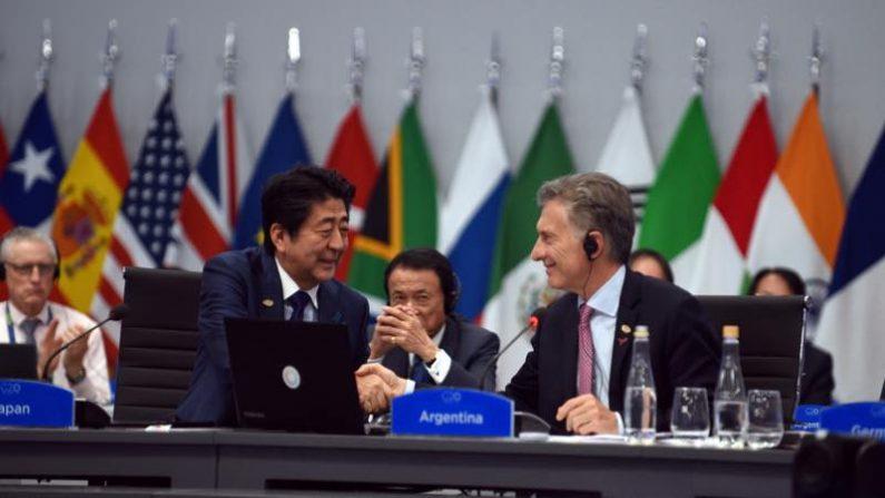 来年G20は貿易や債務、高齢化対策を議論、日本が議長国