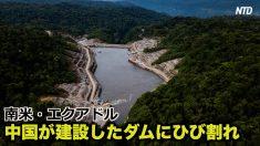 【動画ニュース】エクアドル 中国が建設したダムの7千か所にひび割れ