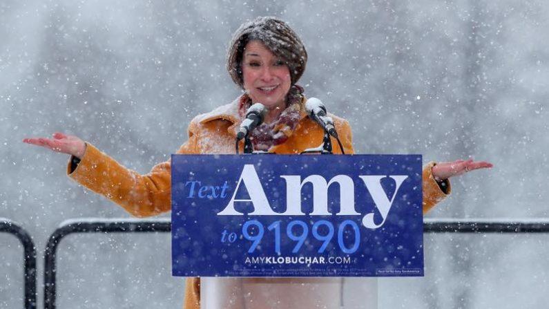 米大統領選、民主党クロブシャー氏が出馬表明 女性上院議員4人目