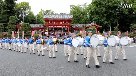 【動画ニュース】法輪功迫害20年 京都で反迫害パレード