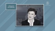 【動画ニュース】「テレビ自白」に関与した中国CCTVキャスターへの制裁要求 国際人権団体