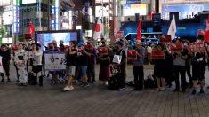 【動画ニュース】「香港頑張れ!」東京でも支持集会