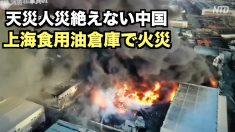 【動画ニュース】天災人災絶えない中国 上海の食用油倉庫で火災 黒煙は100mの高さまで