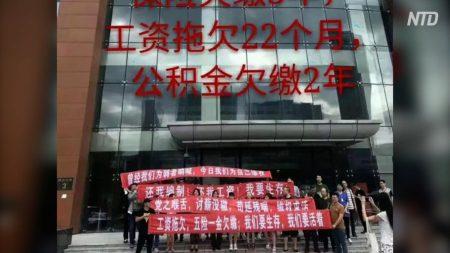 【動画ニュース】中国メディアで給料未払いが増加 リンゴを売って糊口をしのぐ従業員