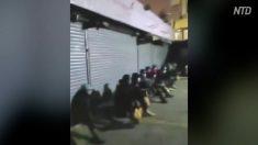 広州市で黒人の大量感染 路頭を彷徨う黒人たち
