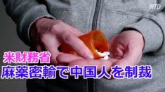 米財務省 麻薬密輸で中国人と団体を制裁