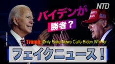 「フェイクニュースだけがバイデンを勝者と呼んでいる」トランプ大統領 【字幕ニュース】