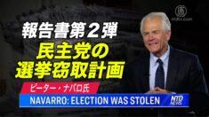 ナバロ氏の調査報告書第2弾 民主党の選挙窃取計画を暴露